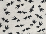 swallows on cream